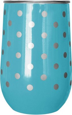 Polka Dot 14-oz Wine Tumbler