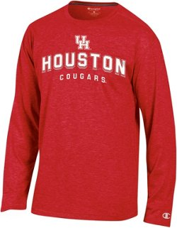 Champion Men's University of Houston In Pursuit Long Sleeve T-shirt