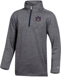 Champion Men's Auburn University Victory 3 1/4 Zip Pullover