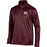 5669ce6e Men's Mississippi State University Victory 1/4 Zip Long Sleeve Pullover