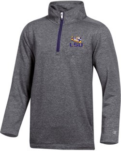 Champion Boys' Louisiana State University Victory 1/4 Zip Pullover