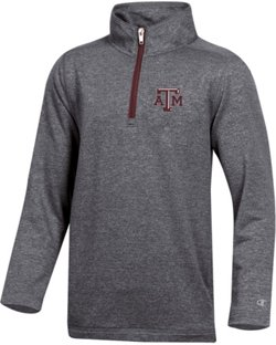 Champion Boys' Texas A&M University Victory 1/4 Zip Pullover
