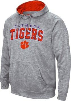 Colosseum Athletics Men's Clemson University Abyss Pullover Fleece Hoodie