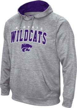 Colosseum Athletics Men's Kansas State University Abyss Pullover Fleece Hoodie