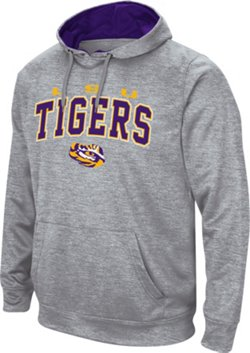 Colosseum Athletics Men's Louisiana State University Abyss Pullover Fleece Hoodie