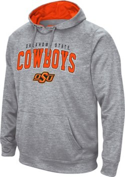 Colosseum Athletics Men's Oklahoma State University Abyss Pullover Fleece Hoodie