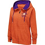 Colosseum Athletics Women's Clemson University Abyss Full Zip Hoodie