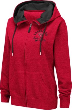 Colosseum Athletics Women's University of Louisiana at Lafayette Abyss Full Zip Hoodie