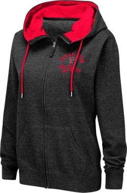 Colosseum Athletics Women's Texas Tech University Abyss Full Zip Hoodie