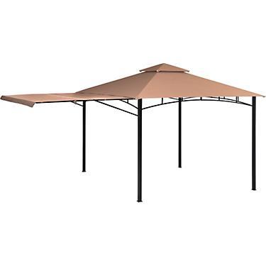 ShelterLogic Redwood 11 ft x 11 ft Canopy Gazebo