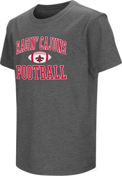 Colosseum Athletics Boys' University of Louisiana at Lafayette Football NOW T-shirt