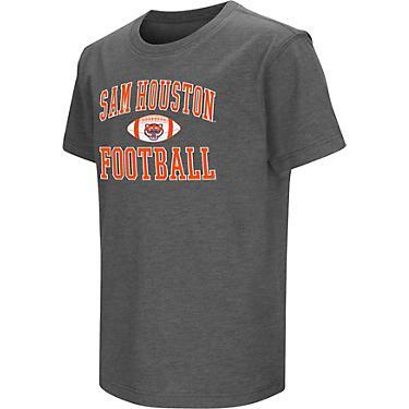 Colosseum Athletics Boys' Sam Houston State University Football NOW T-shirt