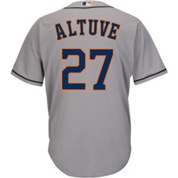 Men's Houston Astros Altuve 27 Authentic Collection Jersey