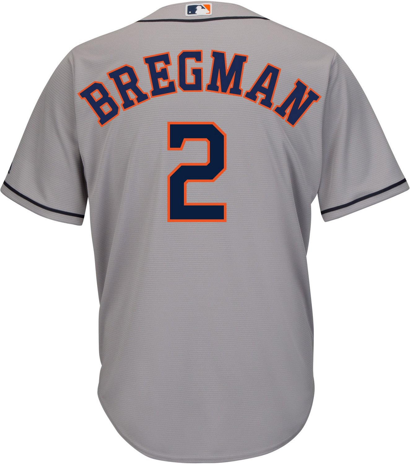 buy online bbb28 1344b Majestic Men's Houston Astros Alex Bregman 2 Replica Jersey