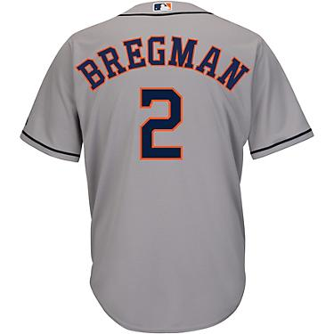 buy online bb245 f61bd Majestic Men's Houston Astros Alex Bregman 2 Replica Jersey