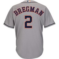 Majestic Men's Houston Astros Alex Bregman 2 Replica Jersey
