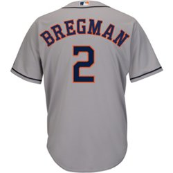 Men's Houston Astros Alex Bregman 2 Replica Jersey