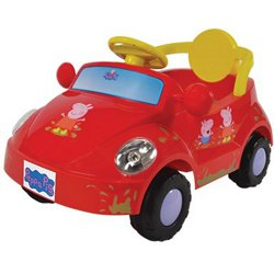 6 V Peppa Pig Family Car Ride-On Toy