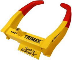 TRIMAX Deluxe Universal Wheel Chock Lock