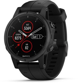 Garmin Adults' fenix 5S Plus Sapphire Smart Watch