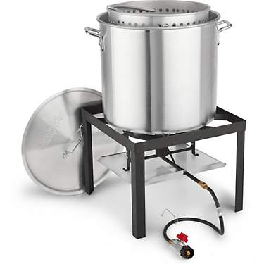 Outdoor Gourmet 60 qt Low Country Kit with Strainer