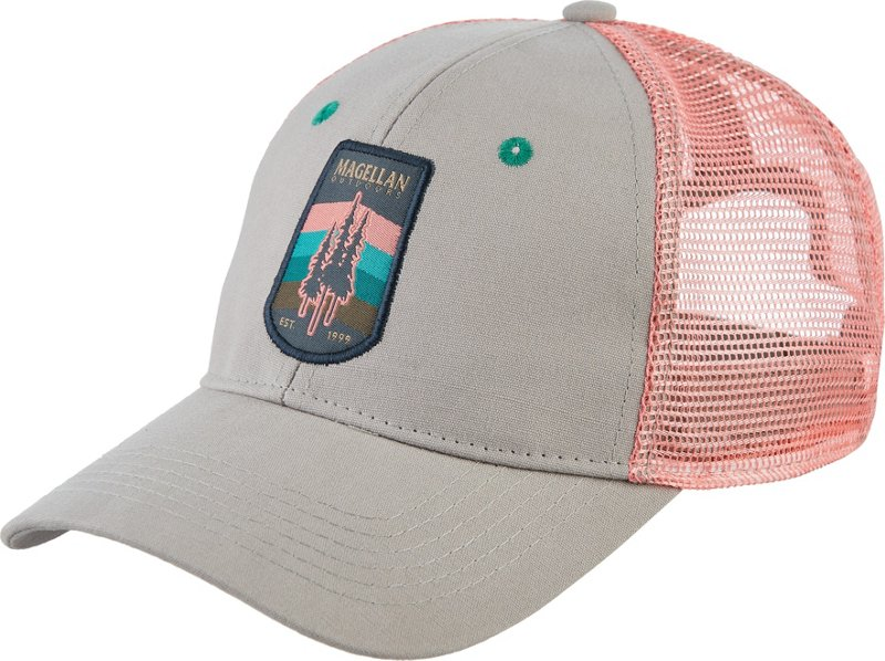 Magellan Outdoors Women's Coastal Adventure Trucker Cap (Silver, Size One Size) – Men's Outdoor Apparel, Men's Hunting/Fishing Headwear at Academy Sports