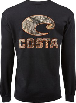 Costa Del Mar Men's Logo Camo Long Sleeve T-shirt
