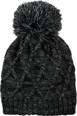 Magellan Outdoors Women's Cable Chain Knit Hybrid Beanie