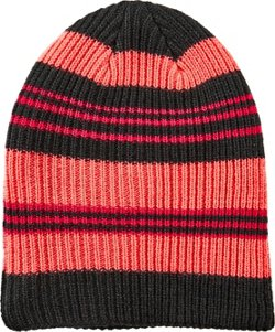 Magellan Outdoors Girls' Reversible Pattern Beanie