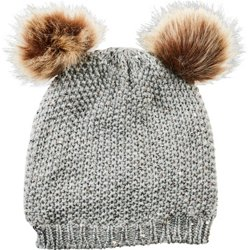 Girls' Sequin Embroidery Beanie