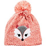 315d08e7bd8 Girls  Sequin Fox Critter Beanie
