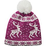 Sof Sole Men's Fireside Prancing Deer Pom Beanie