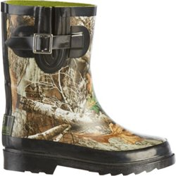 Kids' Camo Rubber Boots