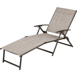 Folding Sling Chaise Lounge