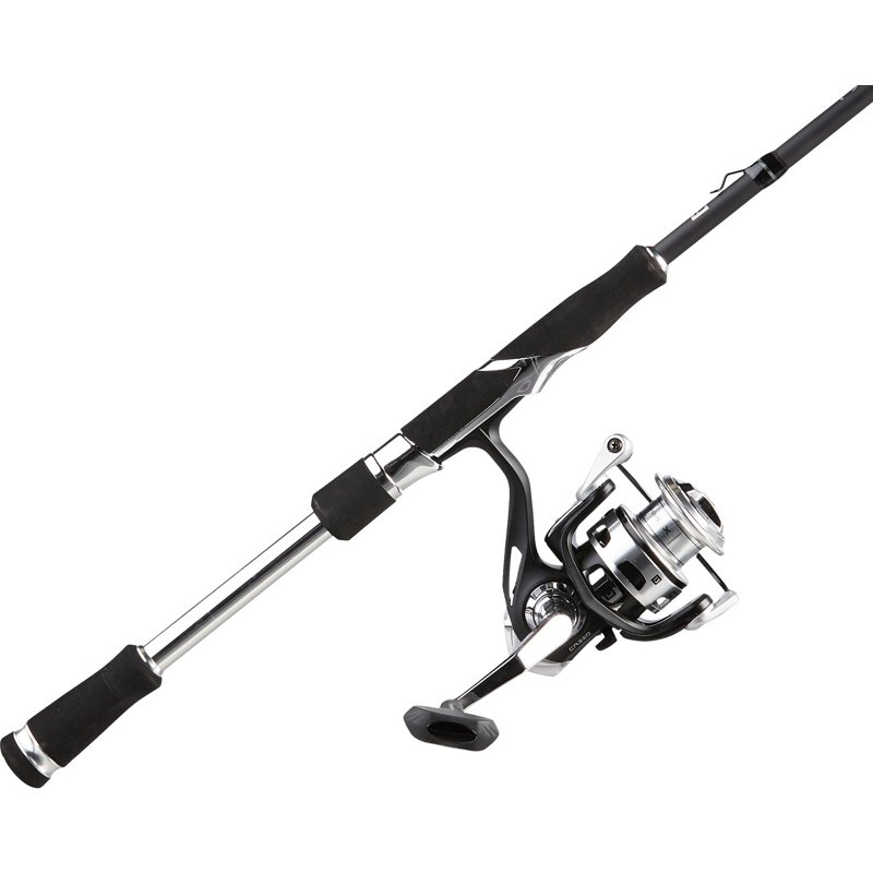 13 Fishing Creed Fate Chrome X 7 ft 1 in M Freshwater Spinning Rod and Reel Combo, 30 - Spinning Combos at Academy Sports thumbnail
