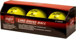 Rawlings Line-Drive Training Balls 3-Pack