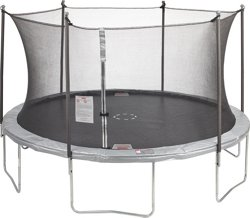 12 ft Round Trampoline with Enclosure