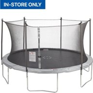JumpZone 14 ft Round Trampoline with Enclosure