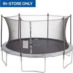 14 ft Round Trampoline with Enclosure