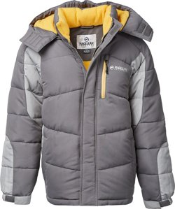 Magellan Outdoors Boys' Puffer Ski Jacket