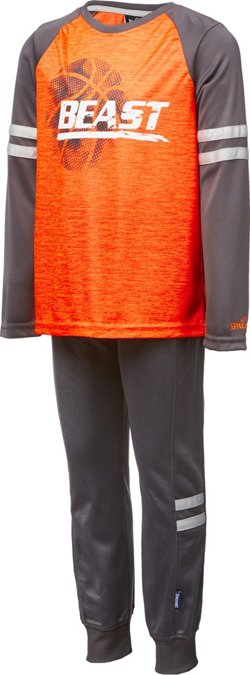 Spalding Toddler Boys' Knock Out T-shirt and Pants Set
