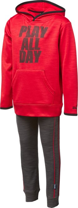 Spalding Toddler Boys' Space Dye Fleece Set