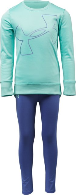 Under Armour Girls' Big Logo Tunic Set