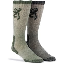 Poplar Wool Boot Socks 2 Pack