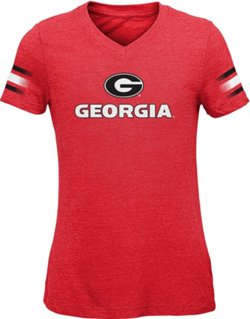 Girls' University of Georgia Goal Line T-shirt