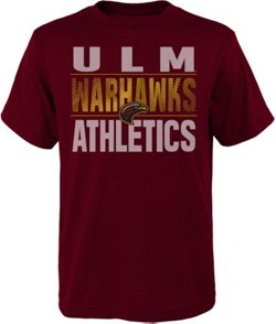Gen2 Boys' University of Louisiana at Monroe Light Streaks T-shirt