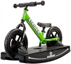 Strider Kids' 12 Sport Balance Bike Baby Bundle