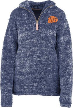 Three Squared Women's University of Texas at El Paso Poodle Jacket