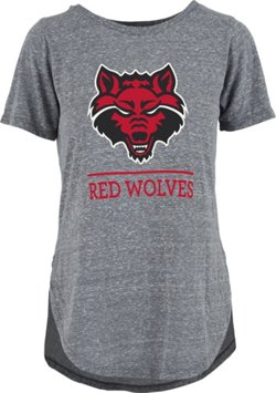 Three Squared Women's Arkansas State University Kenzie Knobi T-shirt
