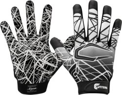 Cutters Kids' Game Day Receiver Gloves